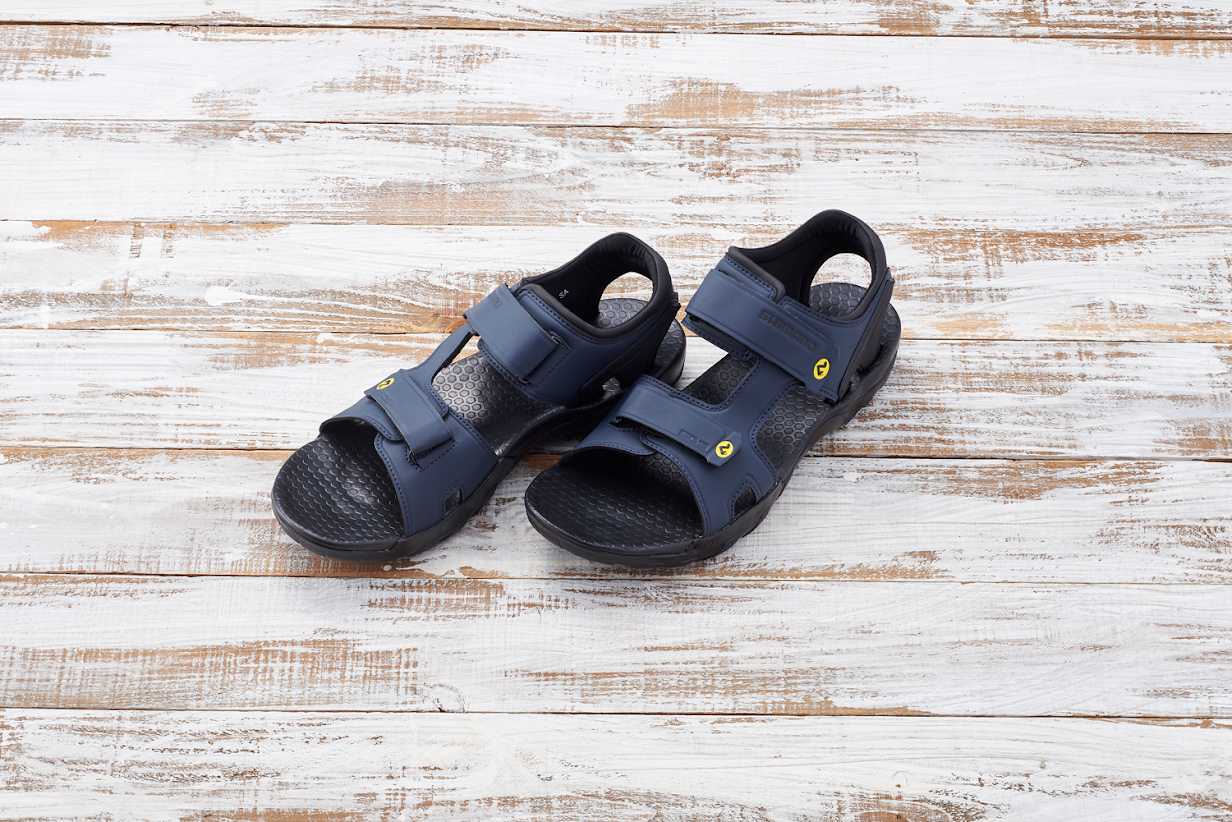 Behold the timeless beauty of cycling sandals.