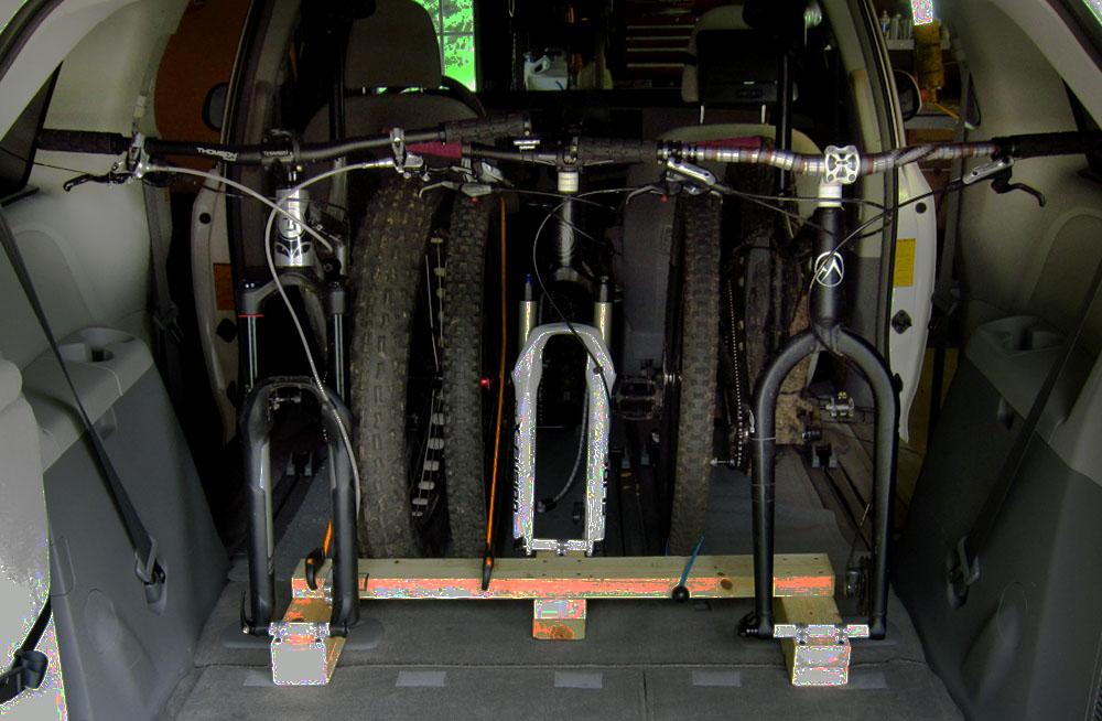 My 10 In Vehicle 3 Bike Rack Warning Minivan Content