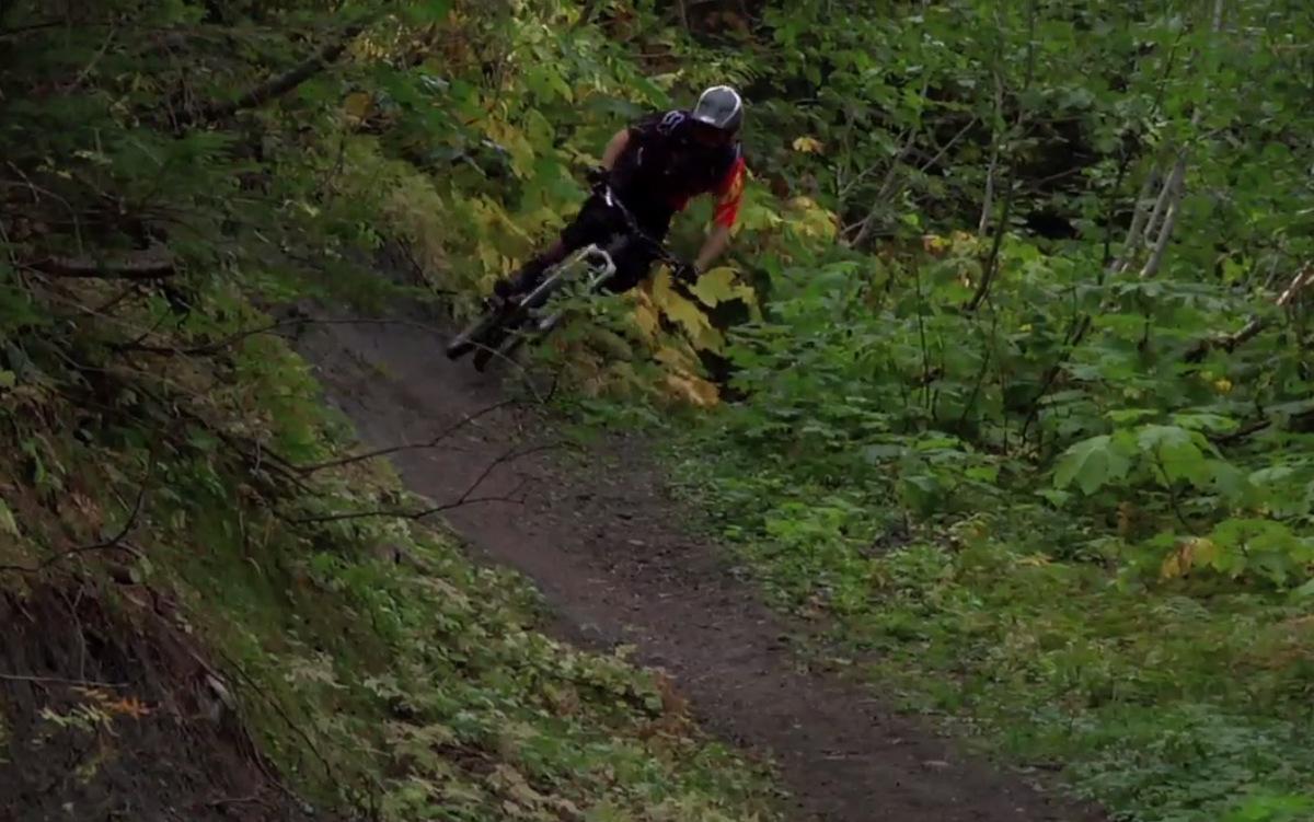 Kirt Voreis rides Retallack, BC drifting