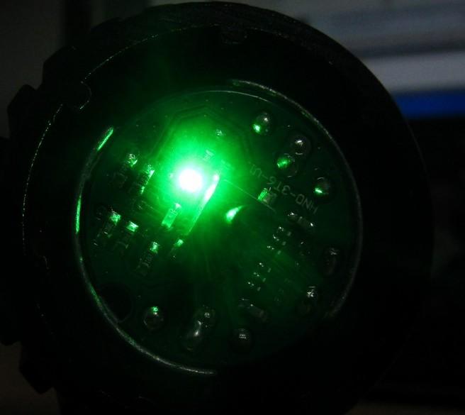 ULTRA BUDGET bike light review-012-green-led.jpg