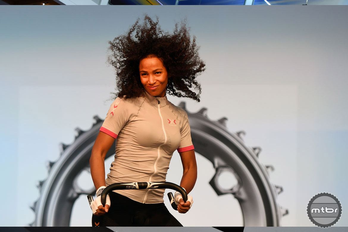 You've got to move it, move it. Photo courtesy Eurobike