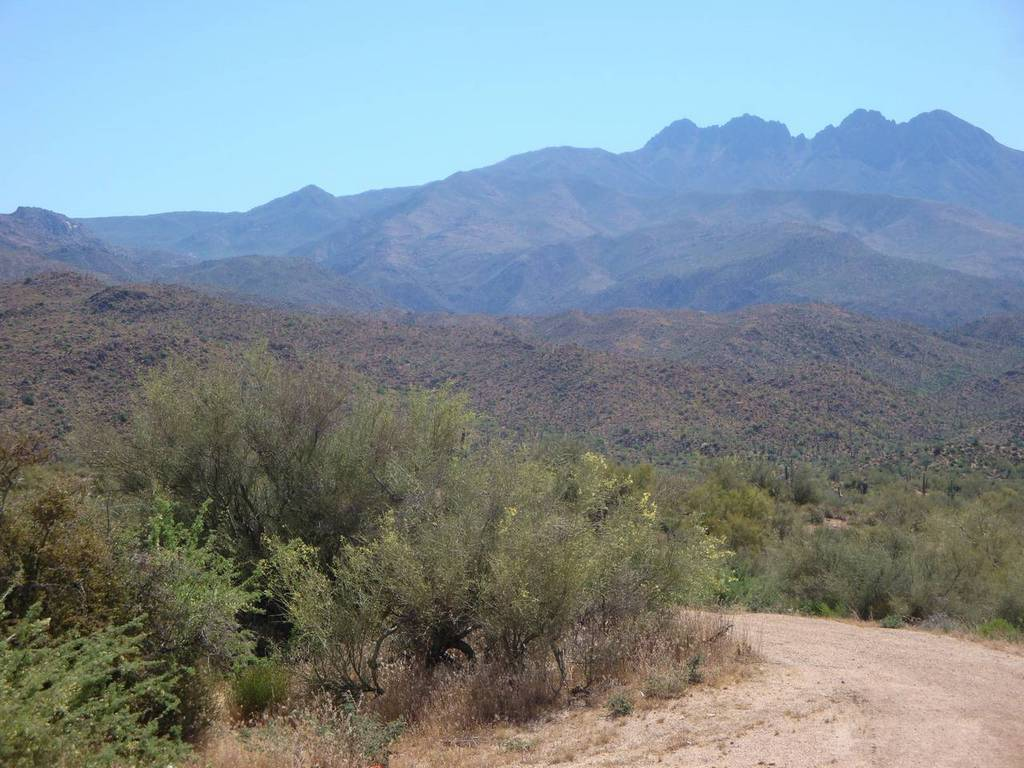 Four Peaks on a hot spring day-01_long_way_up.jpg