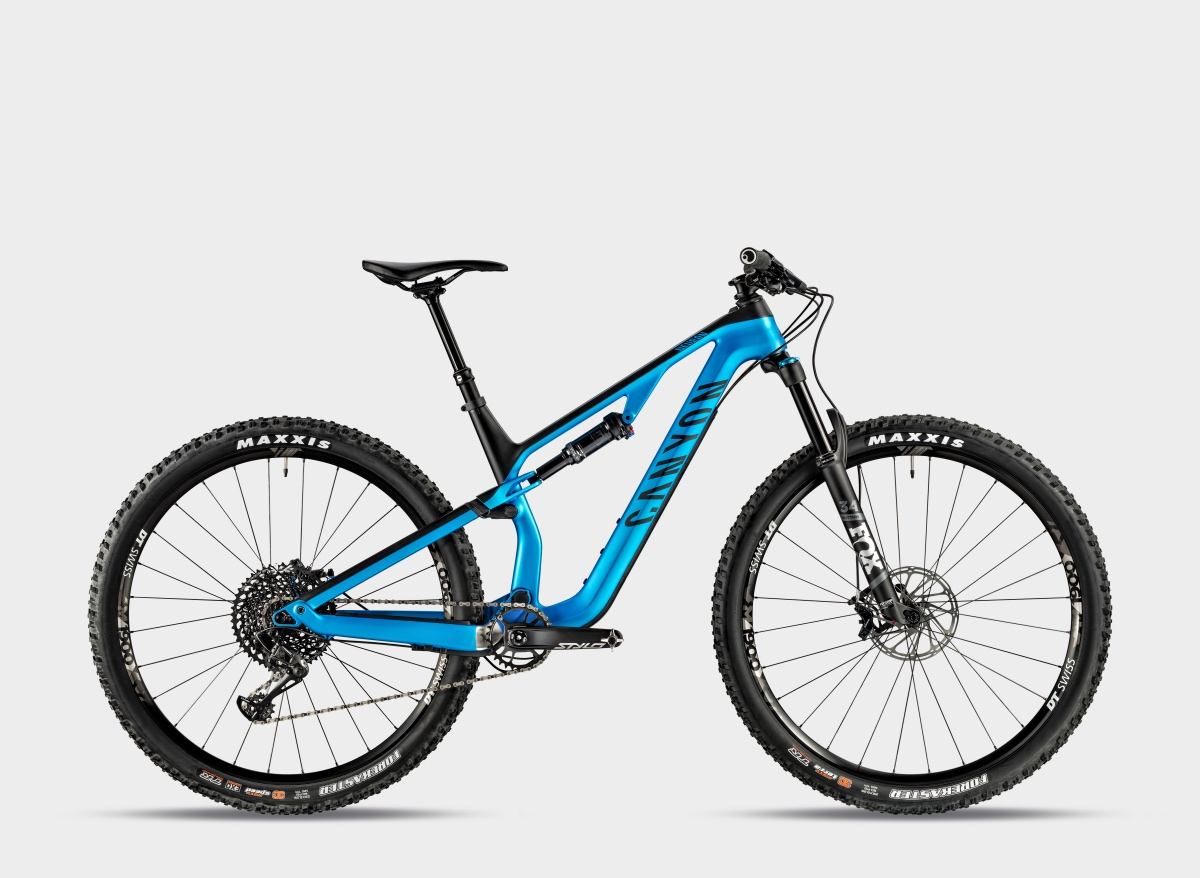 Canyon Neuron short travel trail bike rolls out