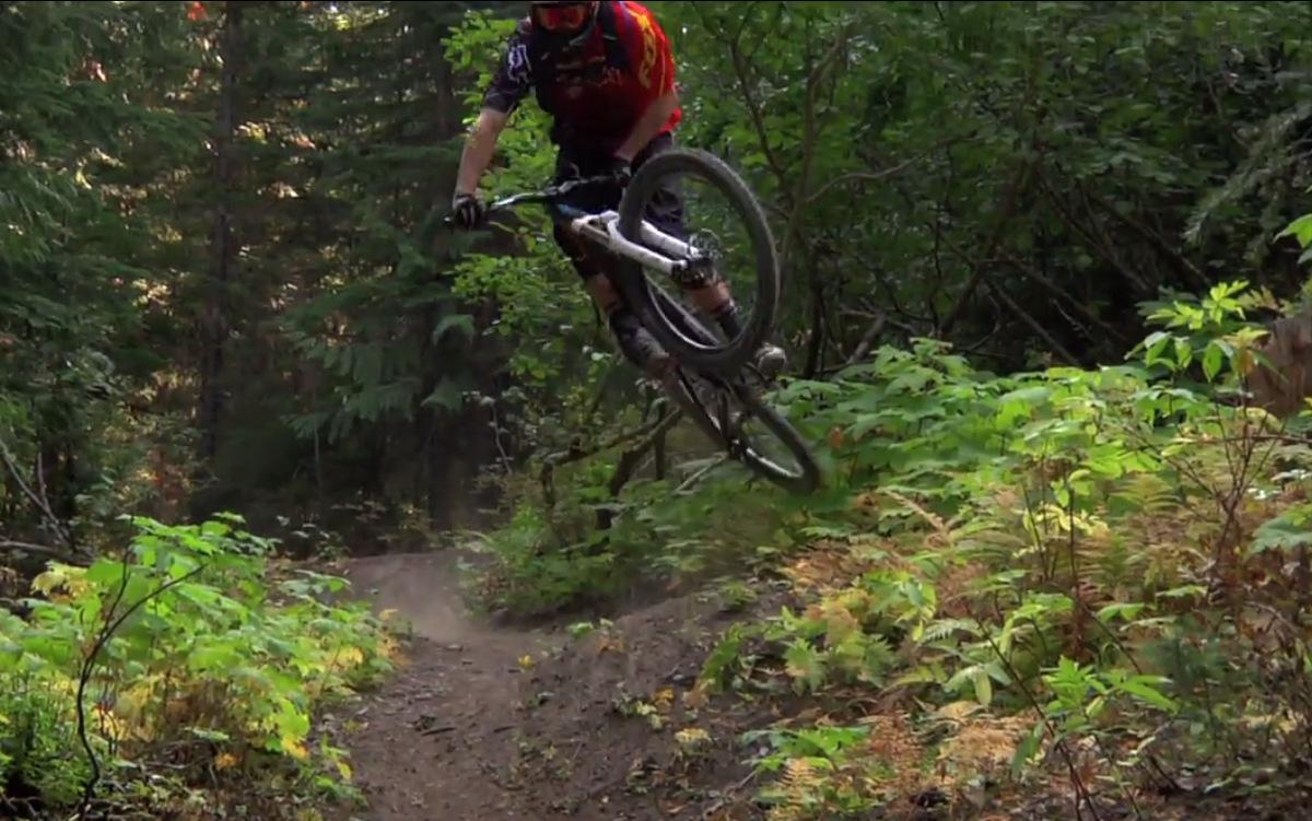 Kirt Voreis rides Retallack, BC