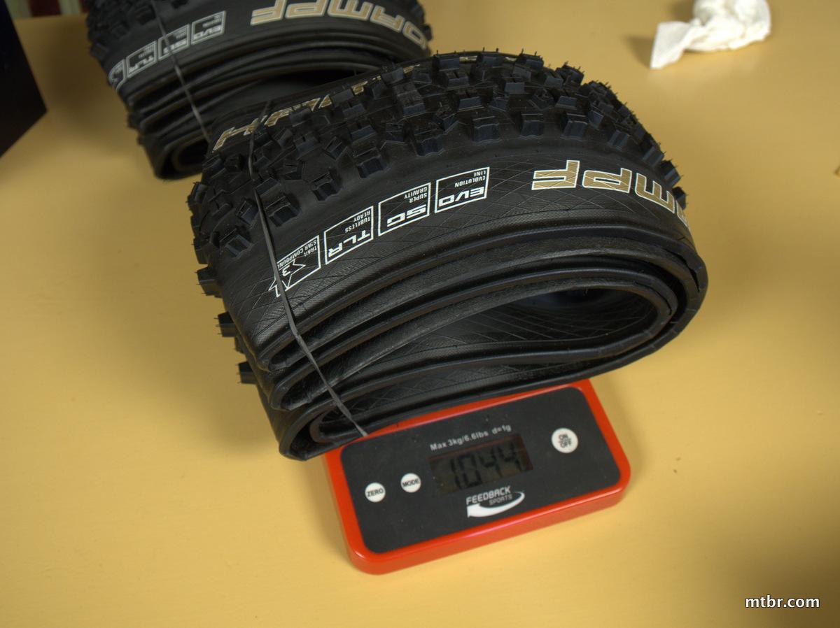 Schwalbe Hans Dampf Super Gravity Tires 650b weight #2