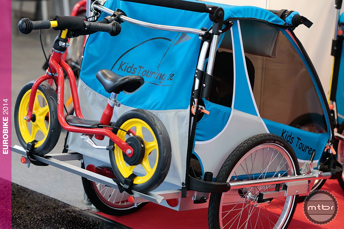 Eurobike Kids Touring Trailer with Rack