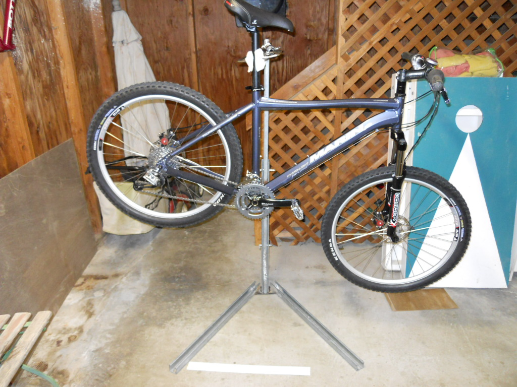 Home Made Bike Repair Stand Images