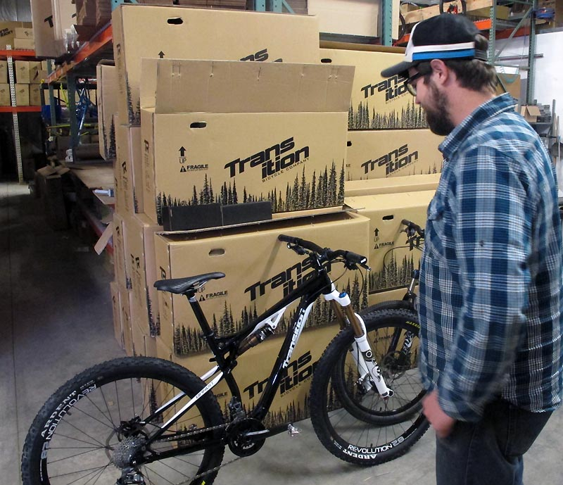 The proud parent of the Bandit 29er - Sam B