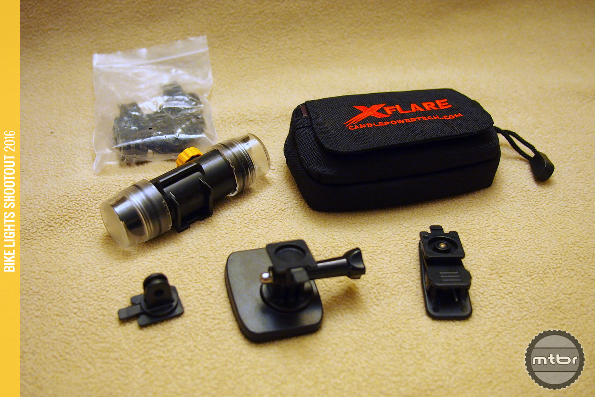 Kit includes many mounts for different applications.