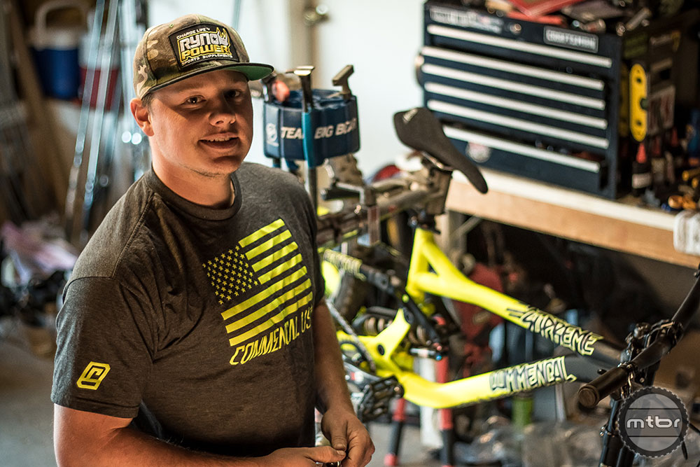 Kyle Strait has joined Commencal for the next two years. Photo courtesy of Commencal
