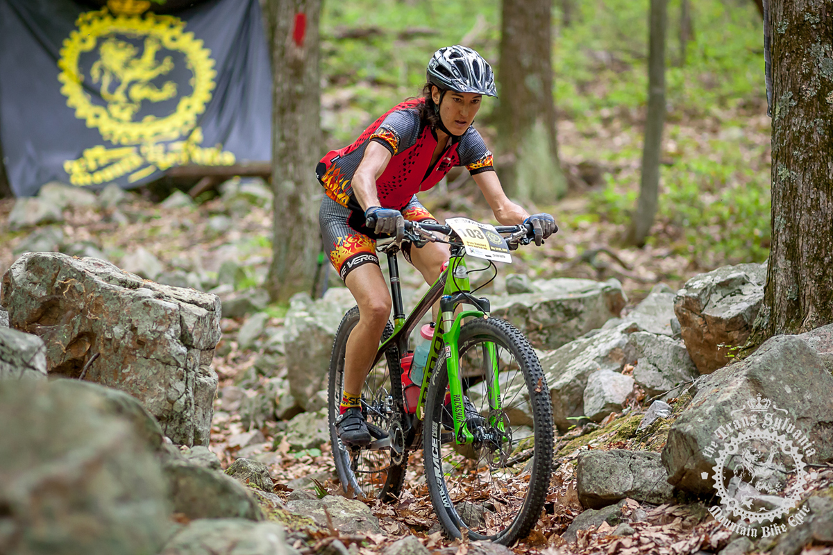 Bryna Blanchard (North American Velo) is riding a Niner Air 9 RDO. Photo by  the Trans-Sylvania Epic Media Team