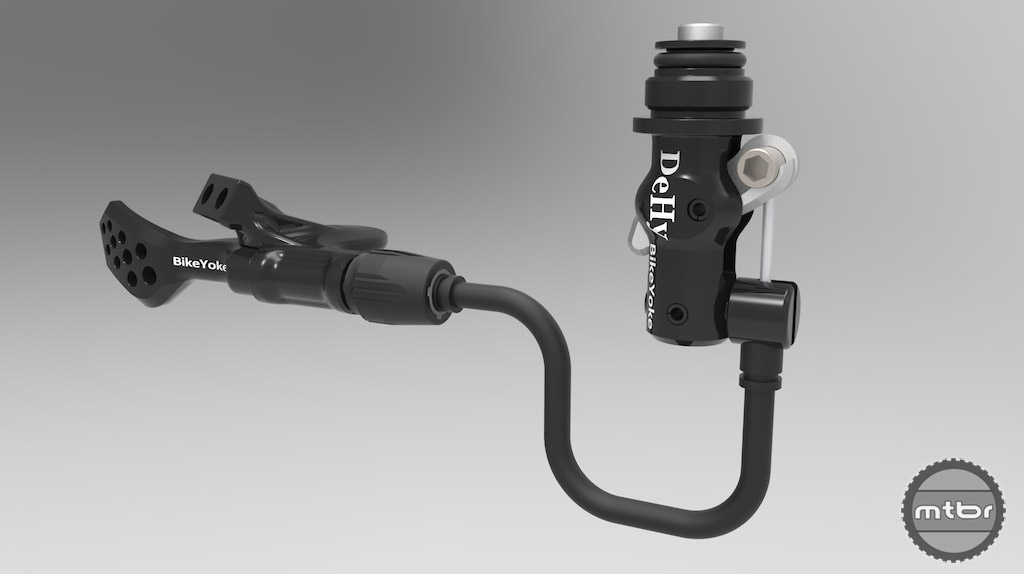 Dehy system simplifies the RockShox Reverb cabling.