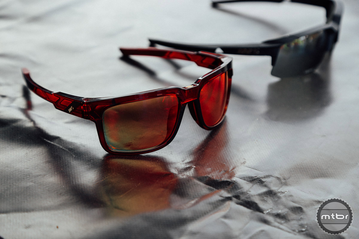 The new sunglass range from 100% is slightly more casual/conventional than their original pieces.