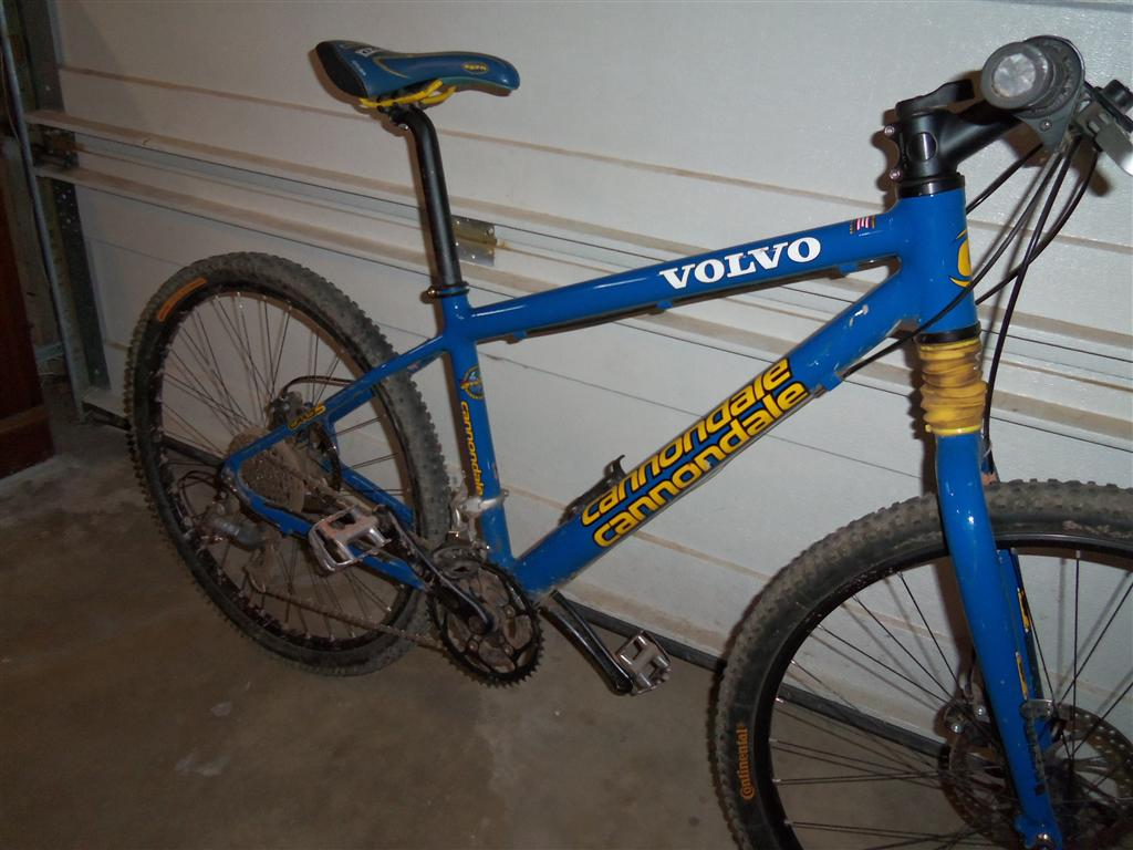 e5a693f4da0 1999 or 2000 volvo cannondale mountain bike race team edition bike. whats  it worth- ...