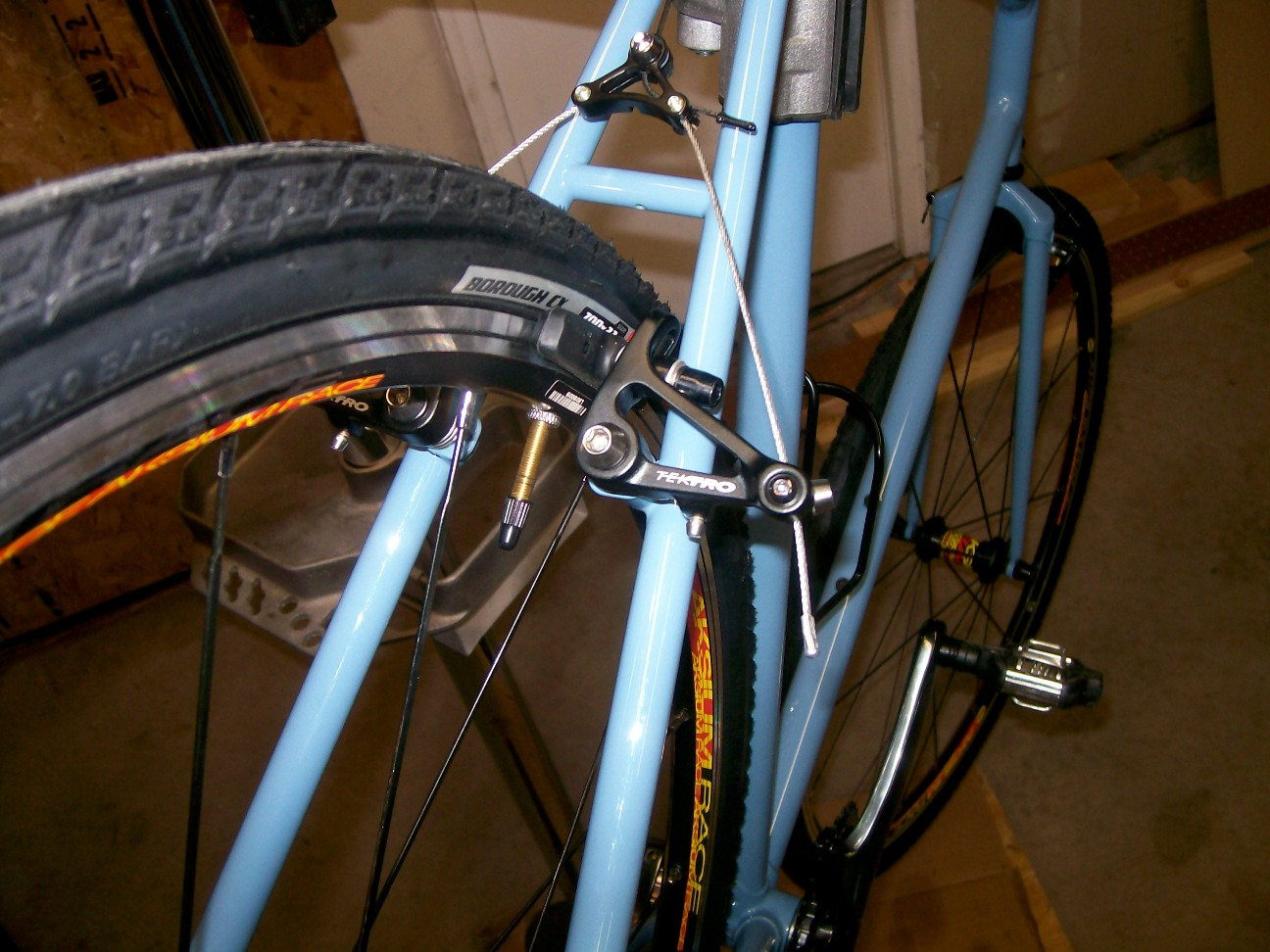 Cantilever Shorty 6 Clearance Problem On Ss Cyclocross