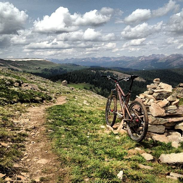 Do you like to get HIGH, man? (post your high country riding photos)-1012823_10201343832015996_1071190413_n.jpg