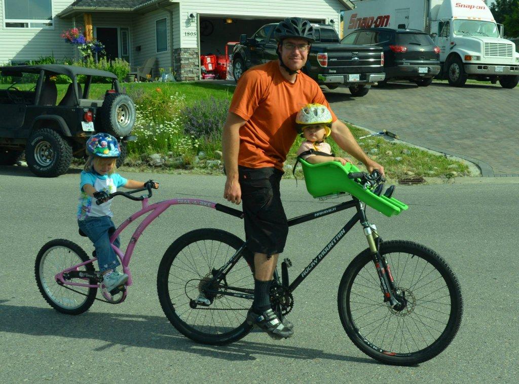 Trail a bike hook up