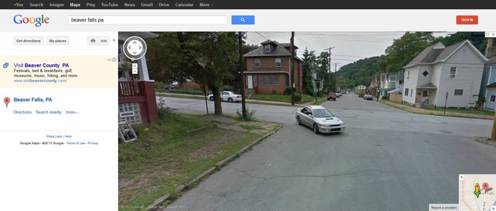 Have you ever found yourself on Google/Bing maps streetview?-1097738_10201670288058528_620896570_o.jpg