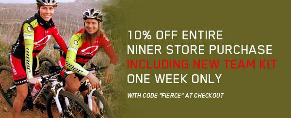 10% Off Niner Store