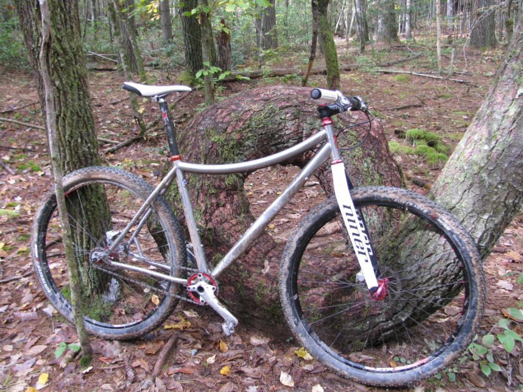 Niner Carbon forks on non-Niner frames - pics please- Mtbr.com