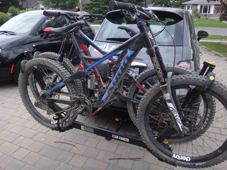 bike mount cross hitch xc country platform reviews rack swagman review