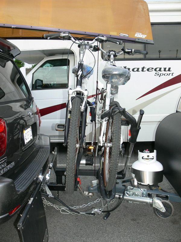 Tow Hitch Bike Rack >> Roof Rack Vs Trailer Hitch Rack Mtbr Com