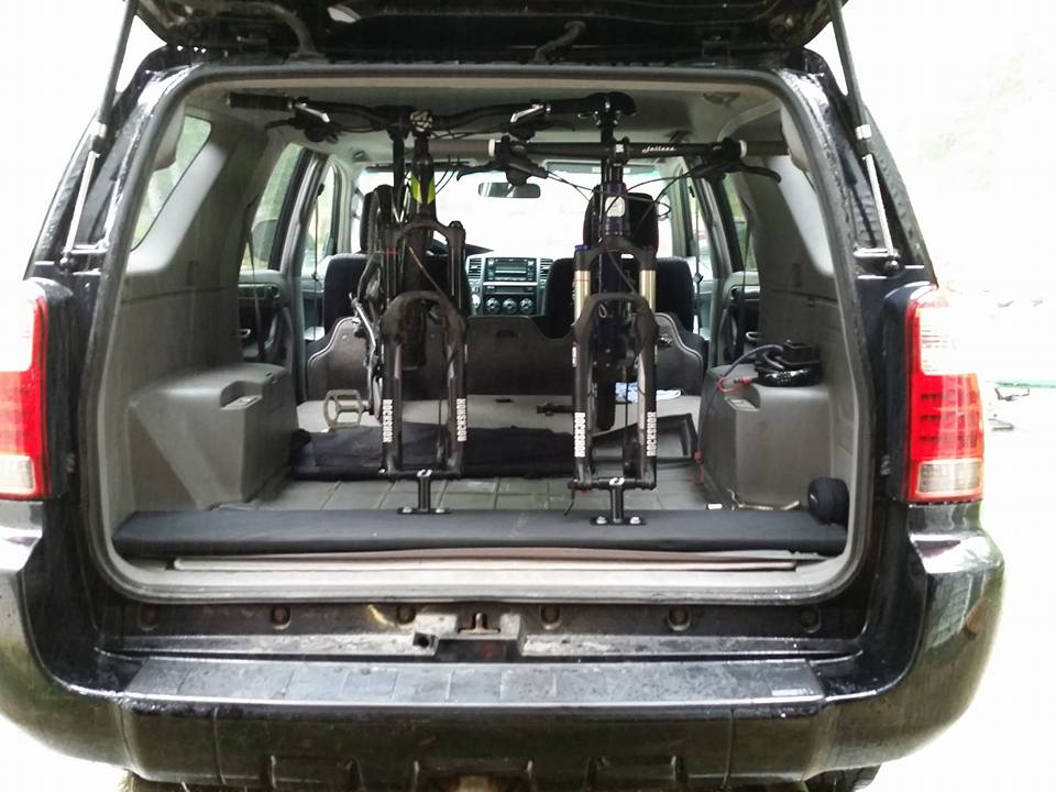 2017 Nissan Xterra Interior Bike Rack