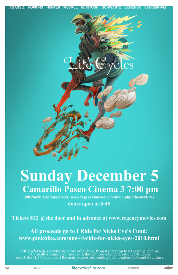 Life Cycles Premier Camarillo, Ca. Dec 5th 7pm-11x17-lifecycles_poster.jpg