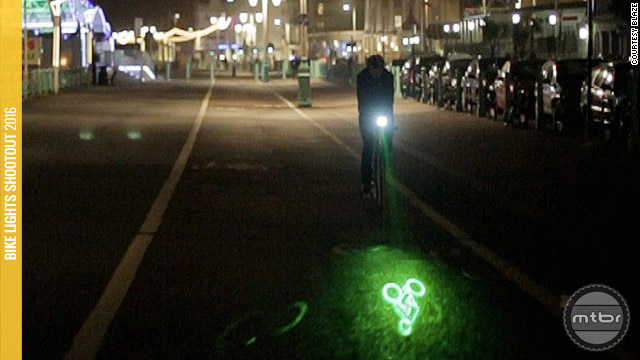 Lasers, Bluetooth and accelerometers are just some of the features being integrated into bike lights.
