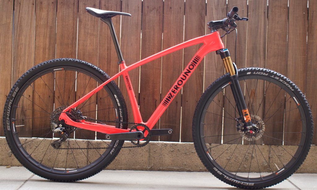 cross country carbon hard-tail with excellent downhill handling ...