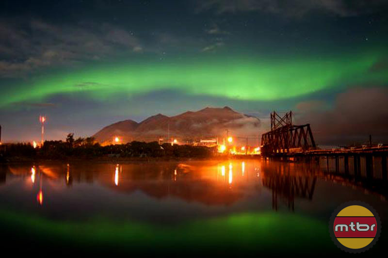 Carcross in the Northern Lights