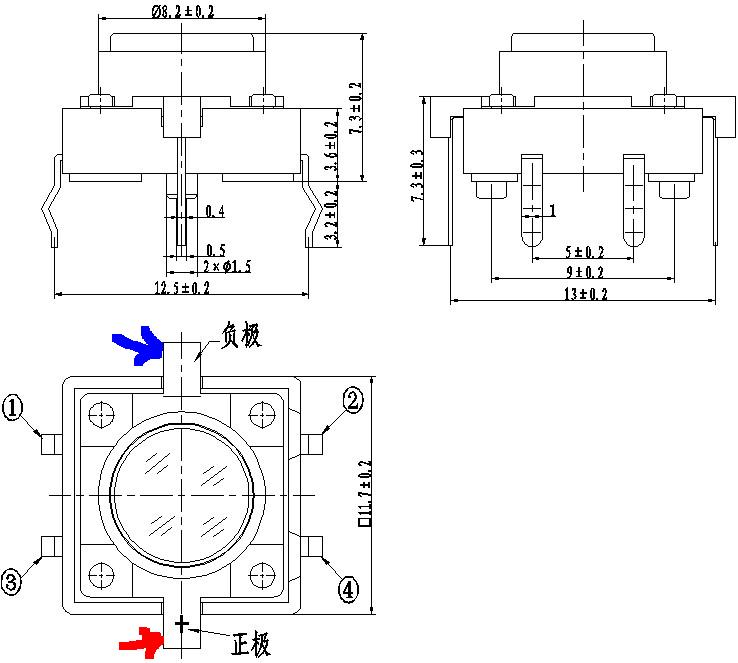 Tactile Switch Wiring Schematic - Wiring Diagrams Mon on 4 pin fan diagram, rocker switch diagram, 4 pin toggle switch, 4 pin wiring harness, solenoid wiring diagram, atv winch wiring diagram, 4 pin lift switch, 4 pin telephone jack wiring, 4 pin switch wire,