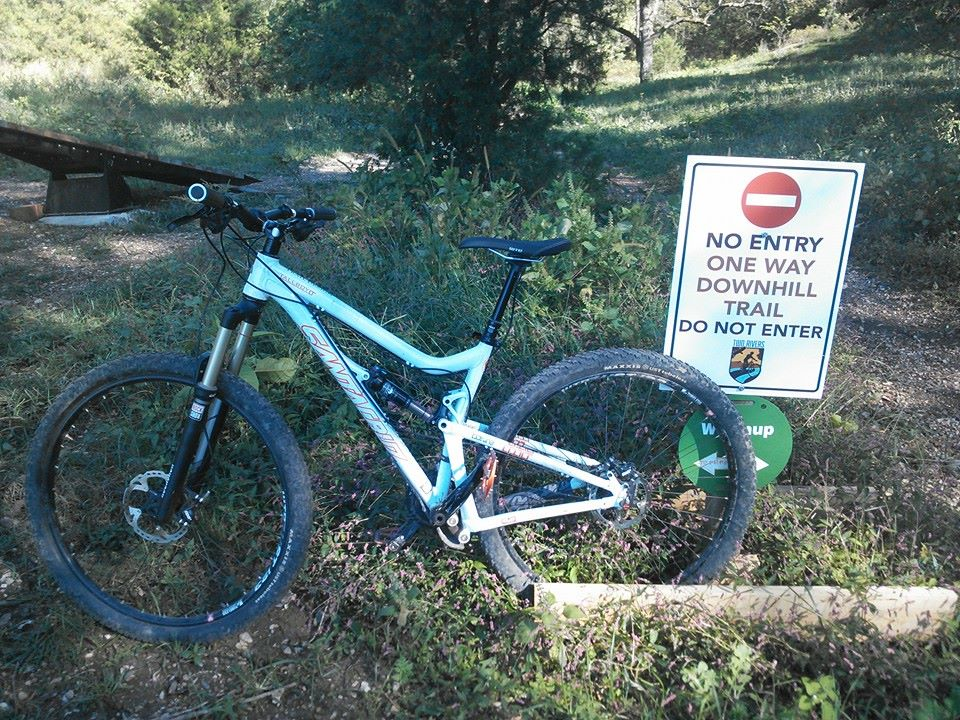 Bike + trail marker pics-1382410_10151673798793157_431578627_n.jpg