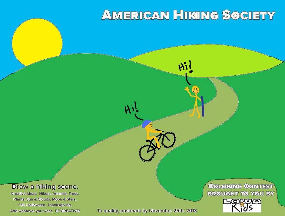 American Hiking Society = OverreactingPanicFreakOut!-1390603_10201832410564828_160755032_n.jpg