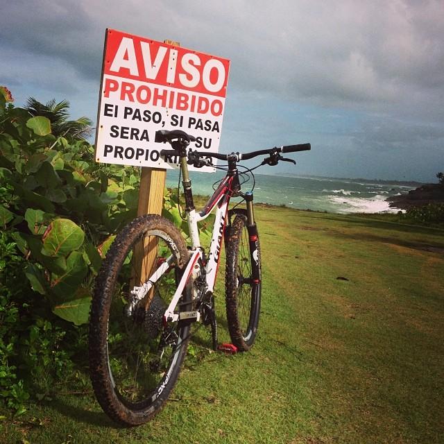 Bike + trail marker pics-1474439_10152094104151085_1469802274_n.jpg