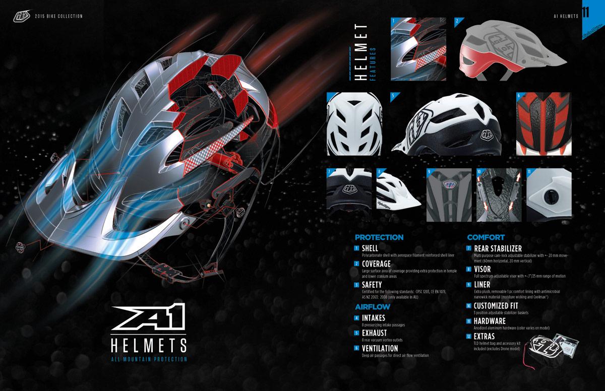 2105 Troy Lee Designs A1