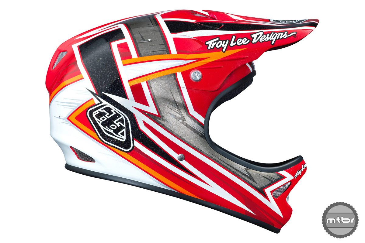 Troy Lee Designs D2 Proven Red