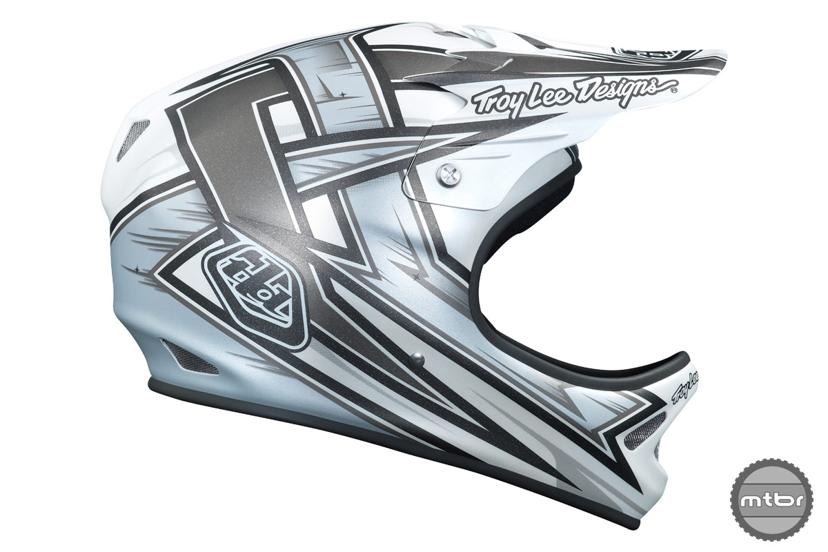 Troy Lee Designs D2 Proven White
