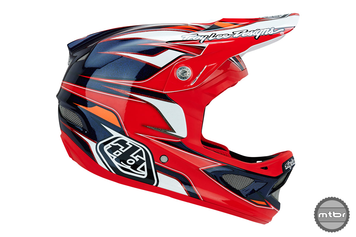 Troy Lee Designs D3 Evo Red