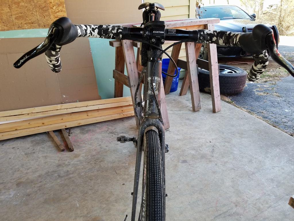 How much handlebar flare for gravel/road bike- Mtbr com