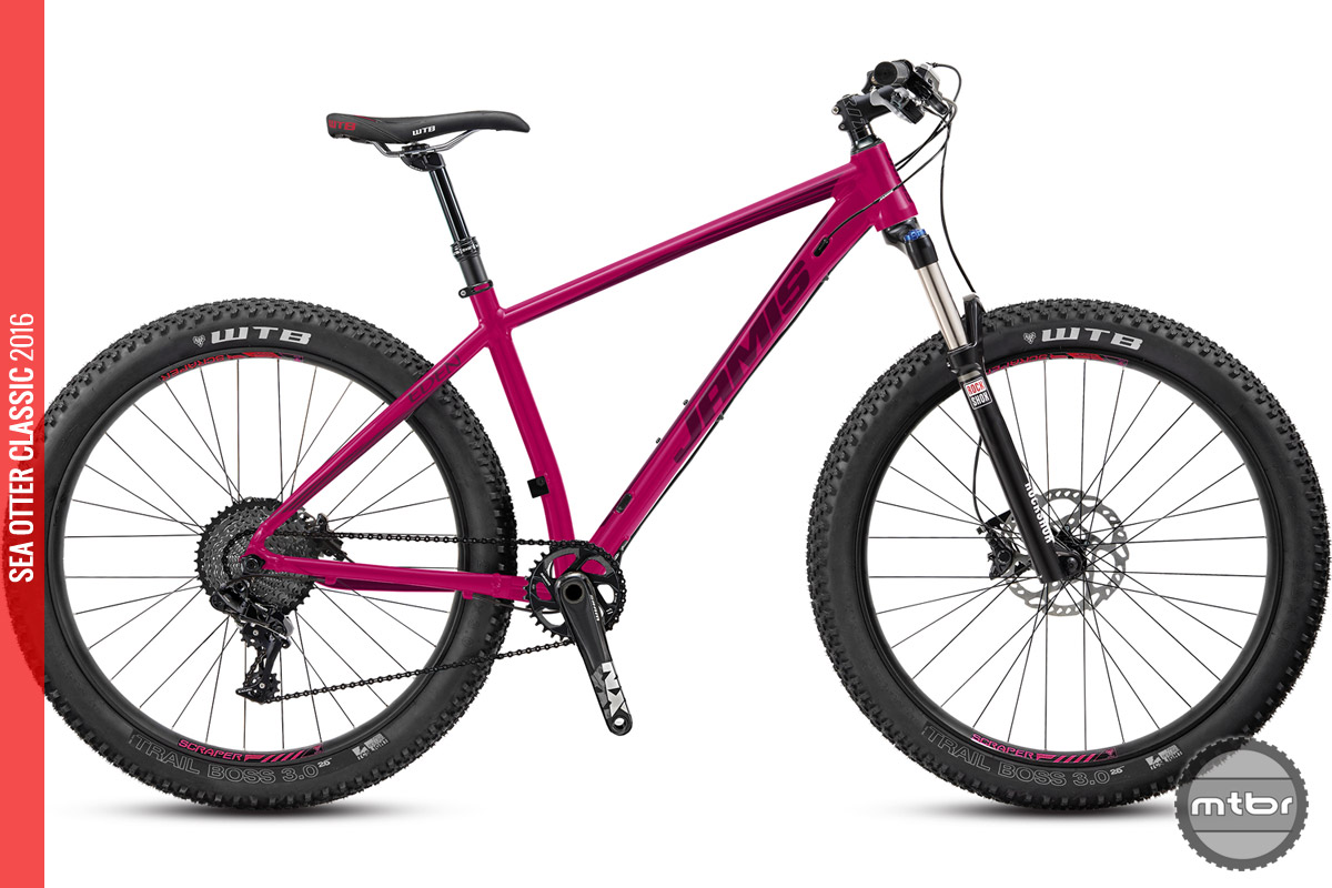 The women's-specific Eden has trail-oriented geometry and a 120mm fork.