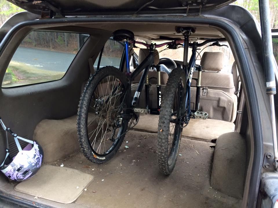 Homemade Suv Bike Rack Mtbr Com
