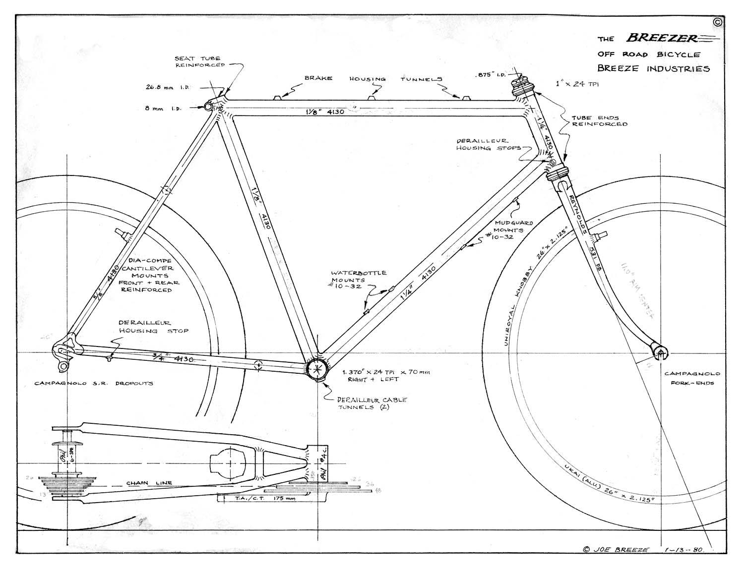 "Do you long for the ""good old days"" of mountain bike geometry?"