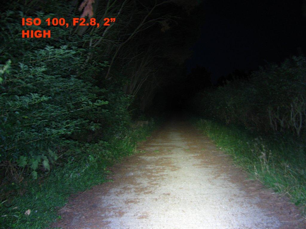 Fenix BC30 Bike Light,  Dual distance beam -Twin XM-L2 T6 review-1bc30high.jpg