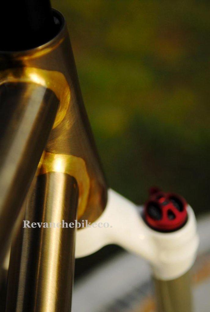 Clear Coat Raw Steel Bike Frame - Page 5 - Frame Design & Reviews ...