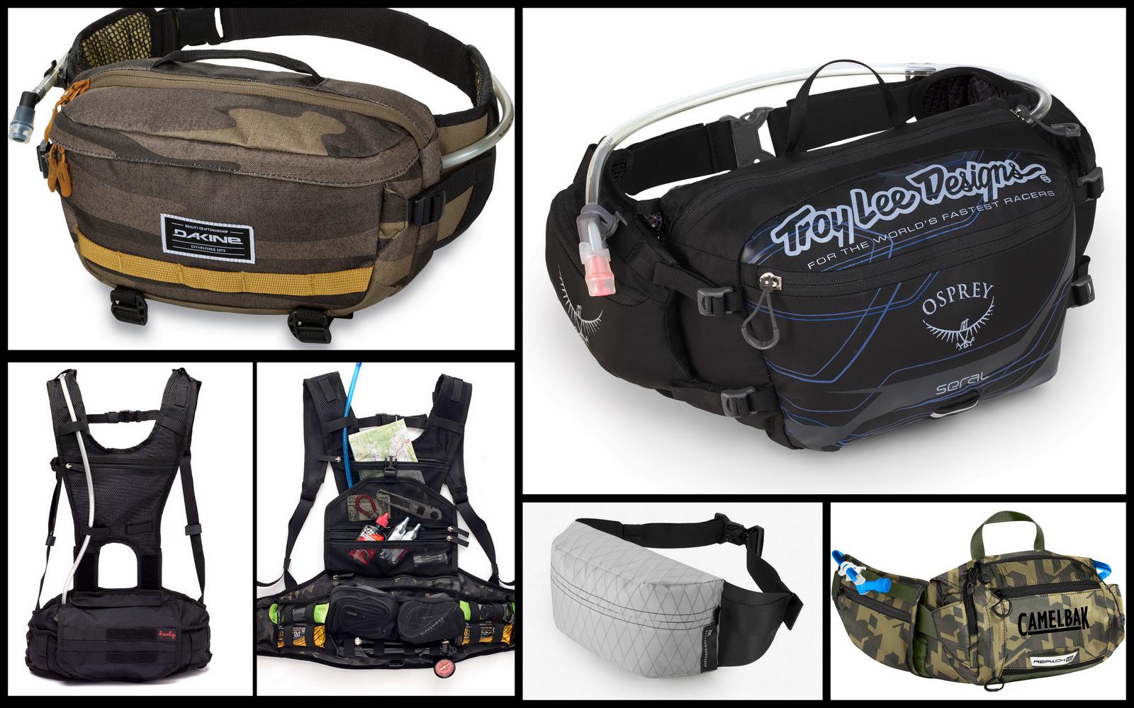 The best hip packs for mountain biking