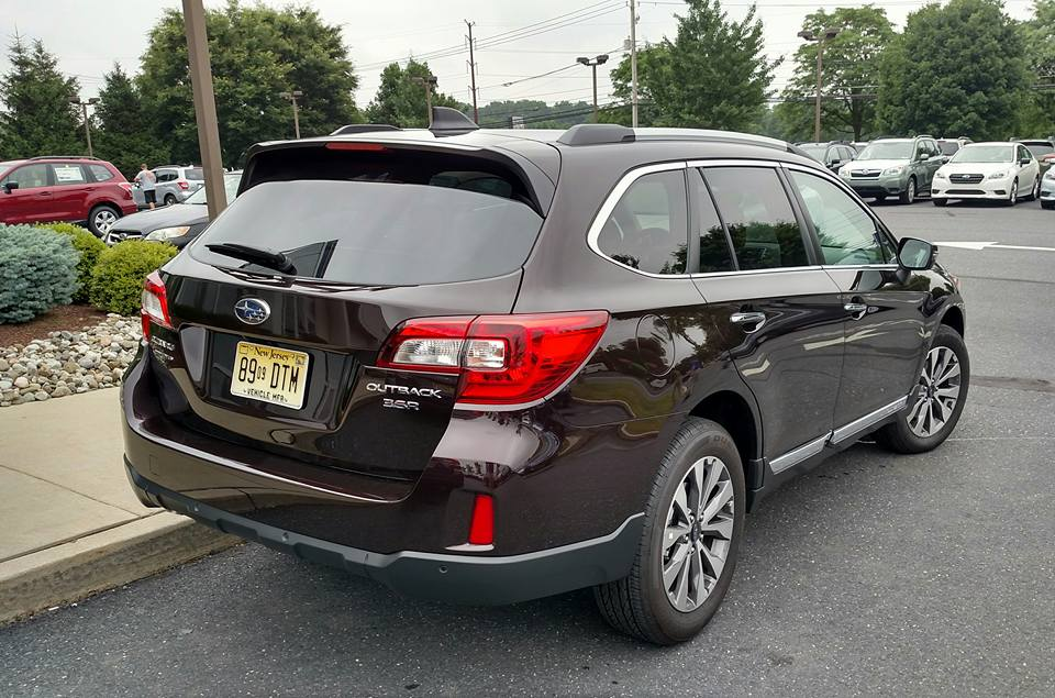 2017 Outback Touring Actual Real Roof Rails Mtbr Com