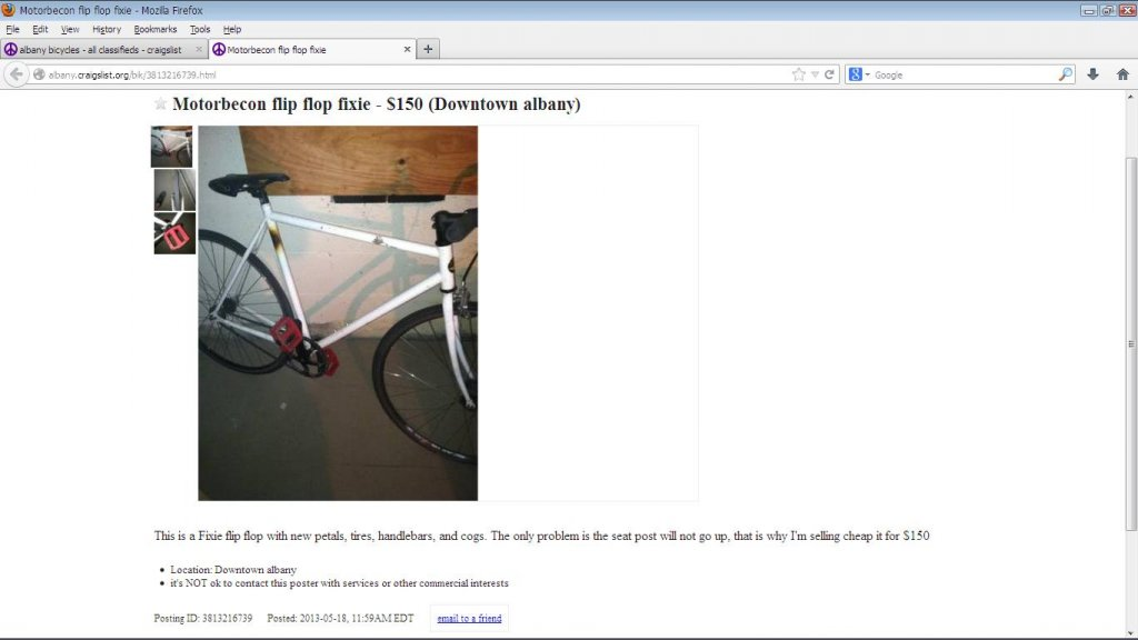 Post your CraigsList WTF\'s!?! here - Page 18- Mtbr.com