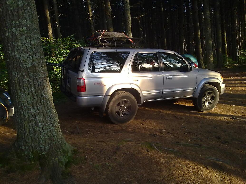 D How Many Miles Your Toyota Runner Tacoma Pickup Etc Ltd Black Wheels