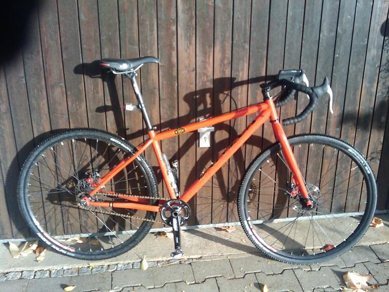 Cyclocross Wheels On A Mountain Bike Mtbr Com